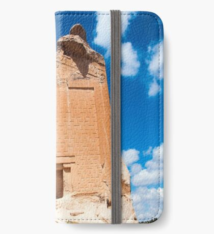 Midas Monument in Turkey iPhone Wallet/Case/Skin