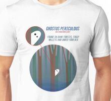 Dangerous Ghost and Where to Find It Unisex T-Shirt