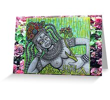 Garden Goddess Greeting Card