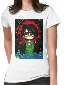Big World -Kewpi Doll- Womens Fitted T-Shirt