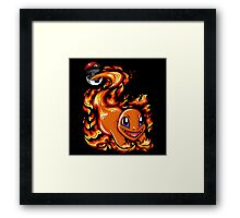 Ball of Fire Framed Print