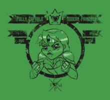 Capable Modern Princess - Decayed Kids Tee