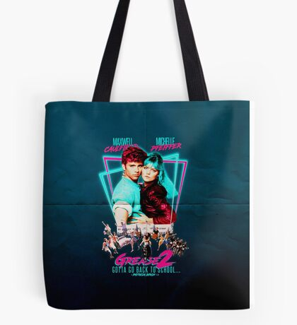 Neon 80's GREASE 2  Tote Bag