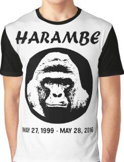 rip harambe Graphic T-Shirt