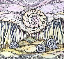Snails by Sviatlana Kandybovich