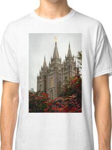 Salt Lake City Temple Angle Classic T-Shirt