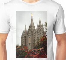 Salt Lake City Temple Angle Unisex T-Shirt