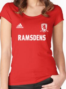 MIDDLESBROUGH f.C-The Boro Women's Fitted Scoop T-Shirt