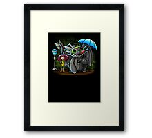 My Neighbor Toothless Framed Print
