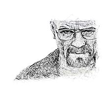 I am the One Who Knocks Photographic Print