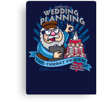 George's Wedding Planning Canvas Print
