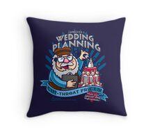George's Wedding Planning Throw Pillow