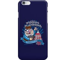 George's Wedding Planning iPhone Case/Skin