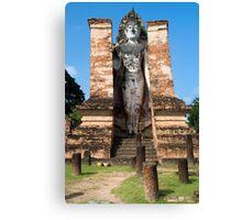 Buddha Monument in Sukhothai Canvas Print