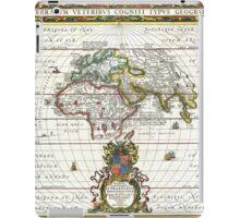 Jansson Map of the Ancient World - OrbisTerrarum iPad Case/Skin