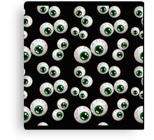 Monster Eyes, Halloween Gifts, t-shirts Canvas Print
