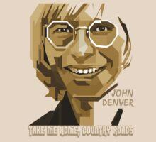 John Denver ~ [Brown Skin] by vdezine
