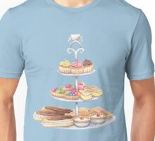 Three Tier Sweet Stand Unisex T-Shirt