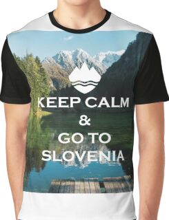 Serene Slovenia Graphic T-Shirt