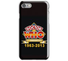 DR WHO 50TH iPhone Case/Skin