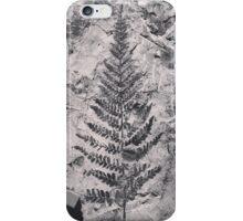 Fern Fossil iPhone Case/Skin