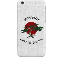 Miyagi Karate School iPhone Case/Skin