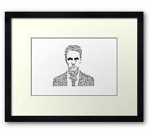 People are Always Asking me if I know Tyler Durden Framed Print