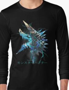 Monster Hunter - Zinogre  Long Sleeve T-Shirt