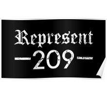 Represent 209 Poster
