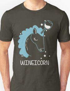 Wineicorn, funy, cool t-shirts Unisex T-Shirt