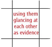 TJLC bingo tiles- 'using them glancing at each other as evidence' Photographic Print