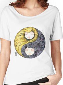 Yin Yang Daughters Women's Relaxed Fit T-Shirt