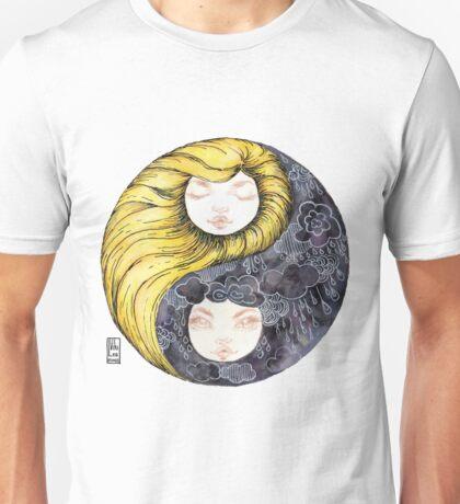 Yin Yang Daughters Sun/Rain Unisex T-Shirt