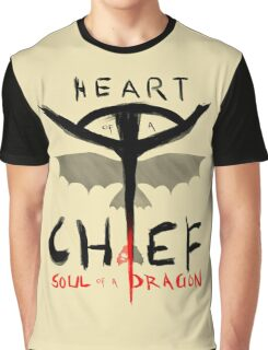 HEART of a CHIEF, SOUL of a DRAGON Graphic T-Shirt