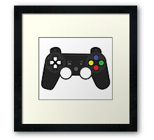 Gaming Controller Framed Print