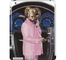 Pink Suited Ram iPad Case/Skin