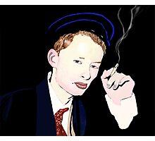 Thom Yorke smoking a cigarette Photographic Print