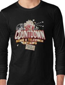 The Countdown Movie & TV Reviews Podcast Long Sleeve T-Shirt