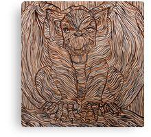 Bat Gargoyle Canvas Print