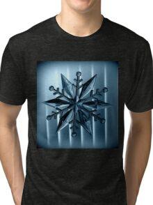 Snow Flake Tri-blend T-Shirt