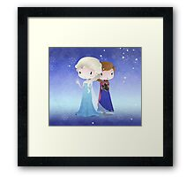 Iced Princesses Framed Print