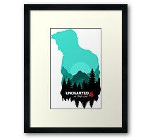 Uncharted 4  Framed Print