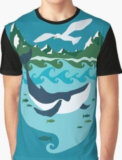 Whale tale Graphic T-Shirt