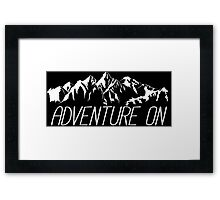 Adventure On Framed Print