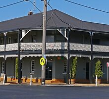 Oriental Hotel, Mudgee, New South Wales, Australia by Margaret  Hyde