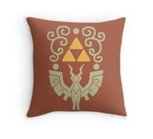 Windwaker Shield Throw Pillow