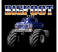 BIGFOOT CLASSIC NES GAME Photographic Print
