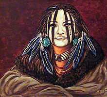 The Mourning Mask, Wrapped In Tradition by Susan Bergstrom