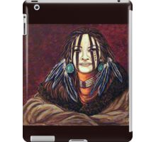 The Mourning Mask, Wrapped In Tradition iPad Case/Skin