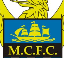 M.C.F.C The Sky Blues Sticker
